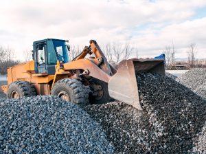 loading procedures with gravel