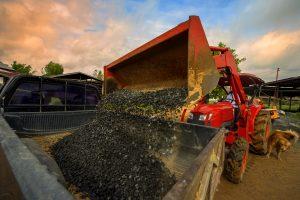 loading procedures for gravel